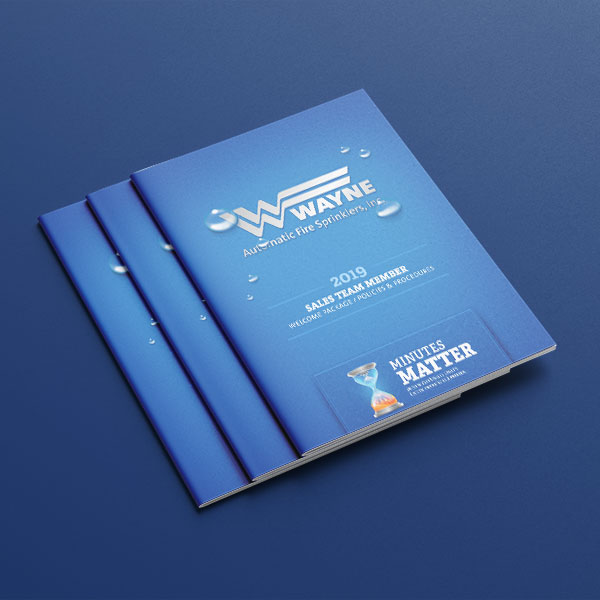 An image of Wayne Team Member booklets