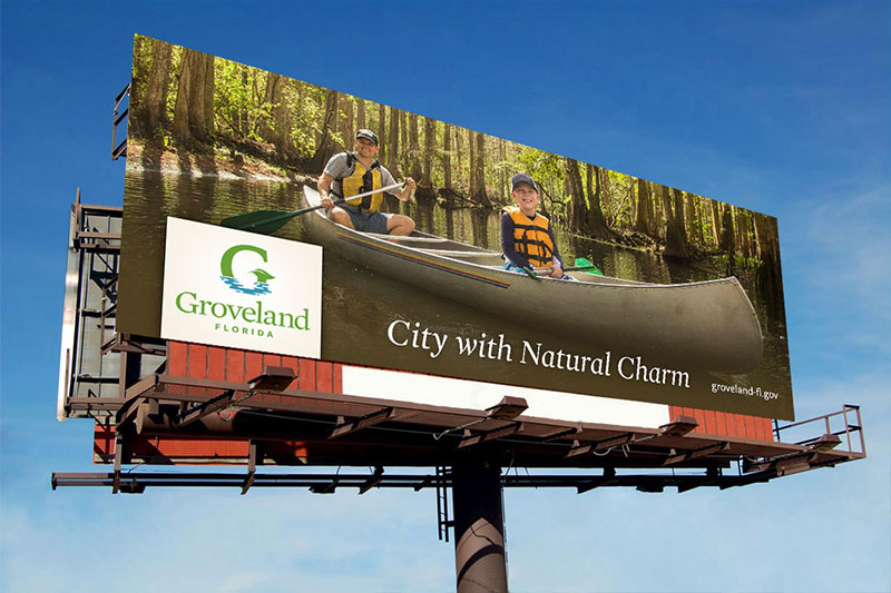 Image of a Groveland Billboard