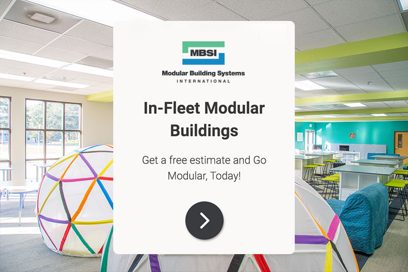 MBSI adwords ad InFleet Modular Buildings Get a free estimate and Go Modular Today
