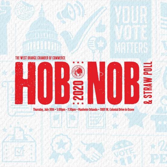 Hob Nob and Straw Poll 2020 logo