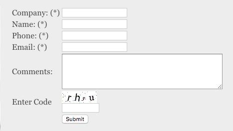 Image of a badly designed form.